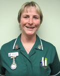Becky Verran, nurse at Lamorna House Veterinary Centre
