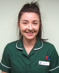 Loredana Francis, nurse at Lamorna House Veterinary Centre
