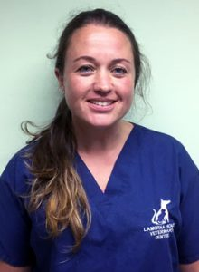 Katherine Davis, vet at Lamorna House Veterinary Centre